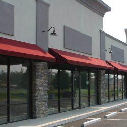 Portes et fenêtres commerciales