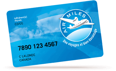 Airmiles Card Graphic