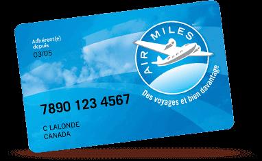 Airmiles Card Graphic