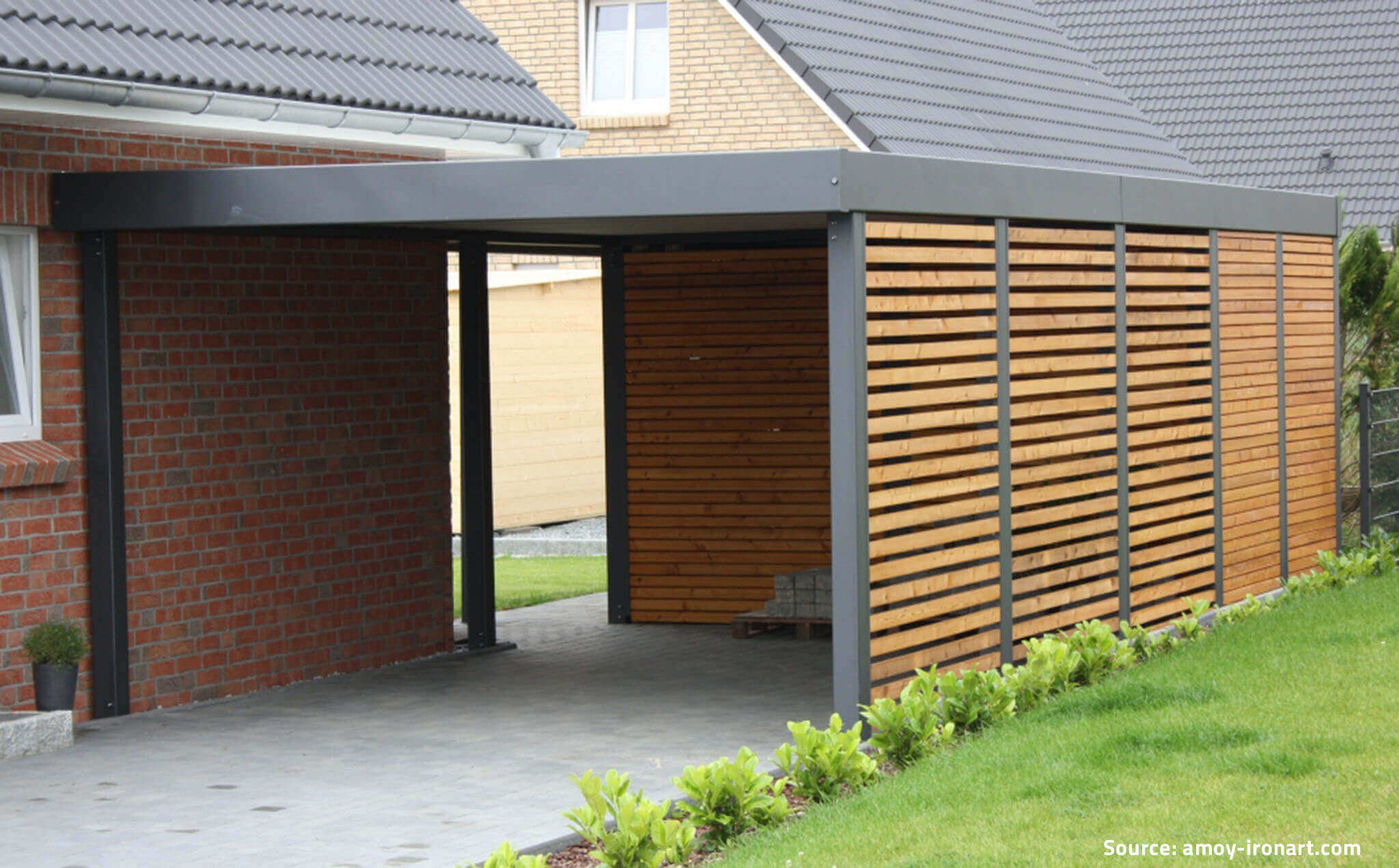Comment fabriquer un carport en bois for Carports and garages