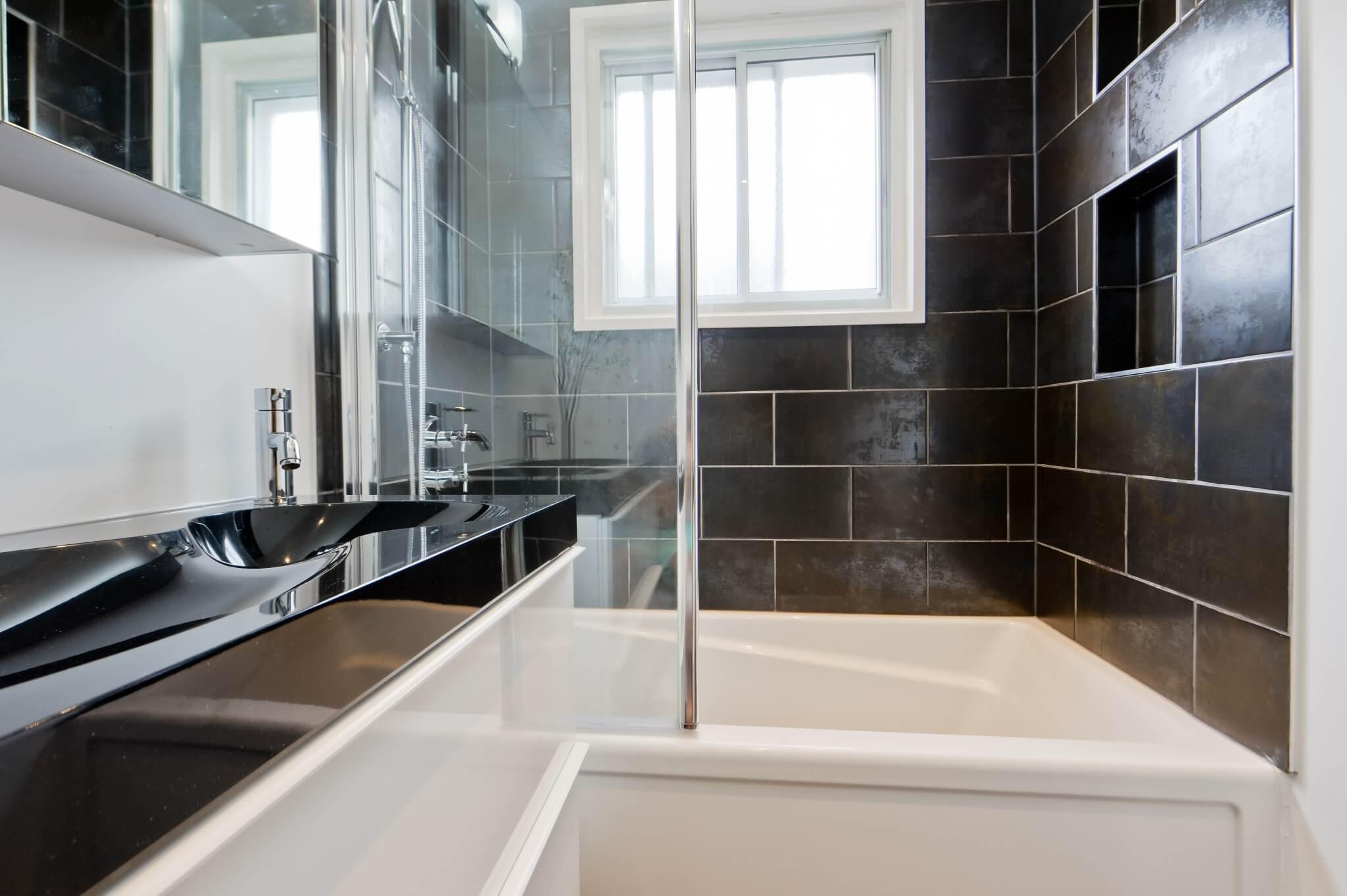 Bain douche salle de bain