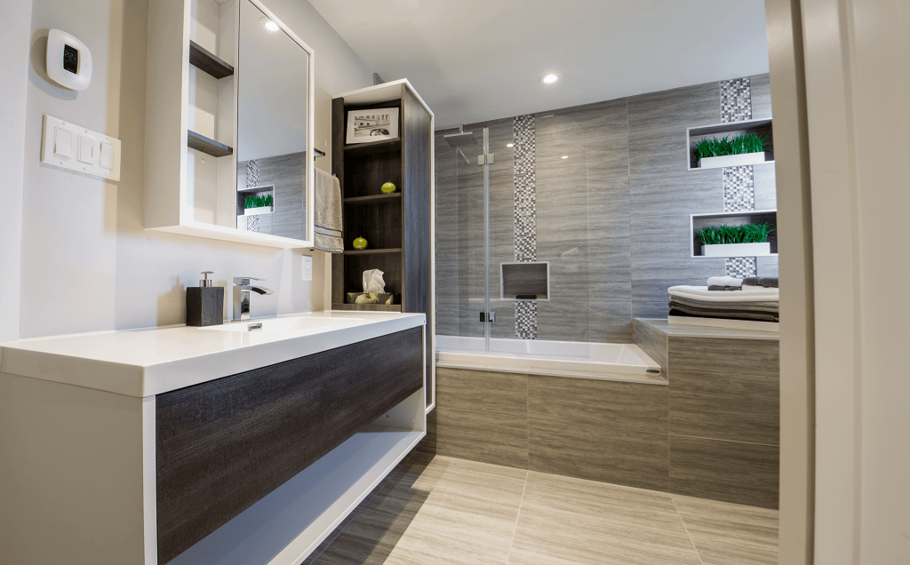 2019 bathroom renovation cost in toronto montreal a - Agencement salle de bain 5m2 ...
