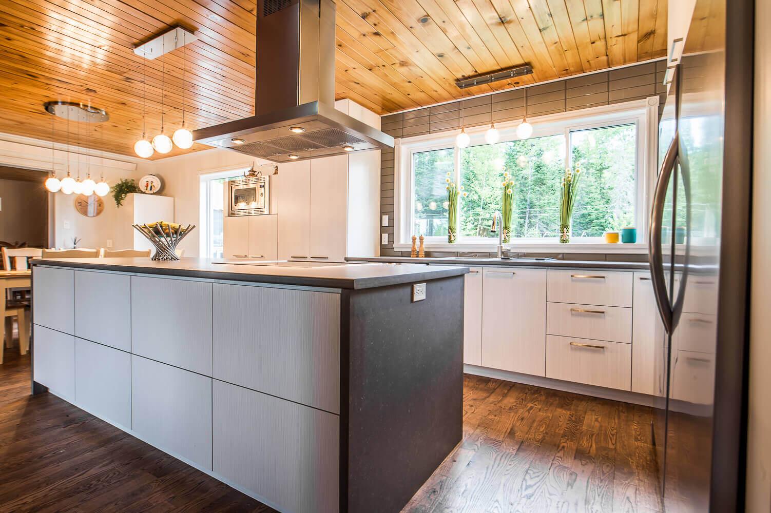 renovation cuisine rustique