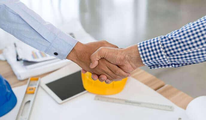 contrat entrepreneur conclu