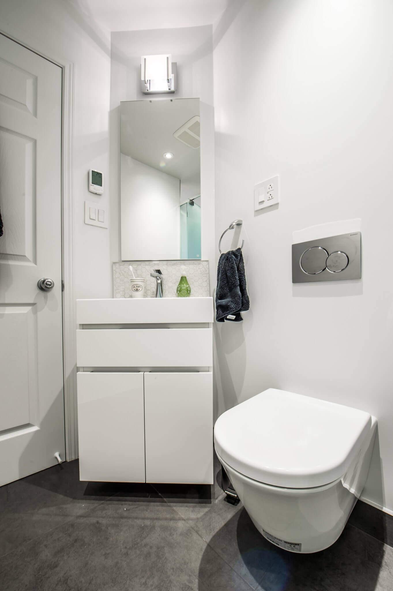 petite vanite salle de bain