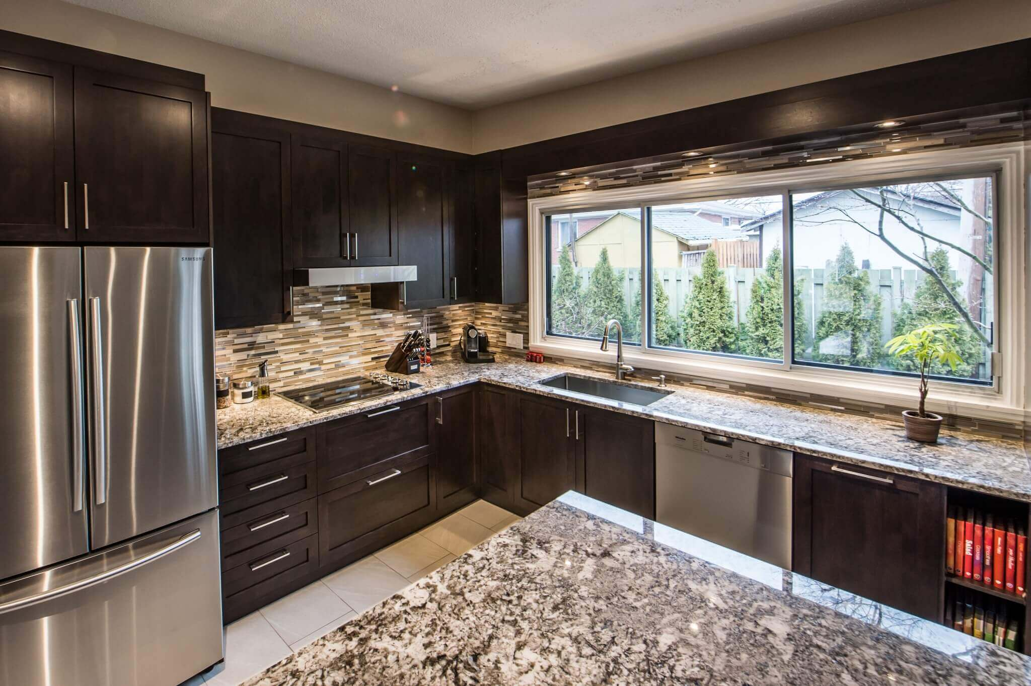 comptoir granite cuisine
