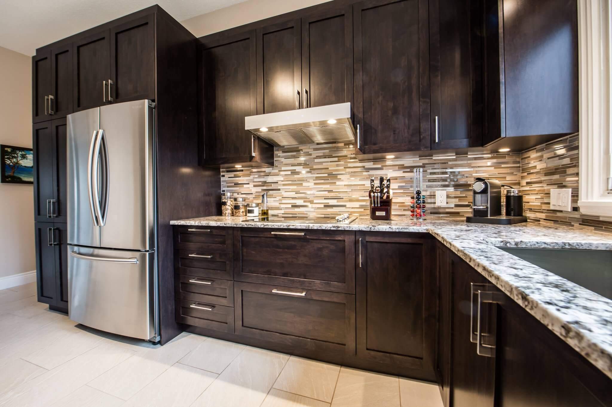 armoires sur mesure de cuisine