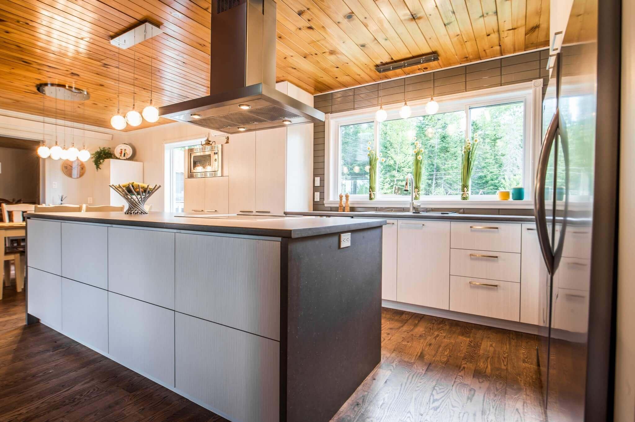 projet cuisine bois