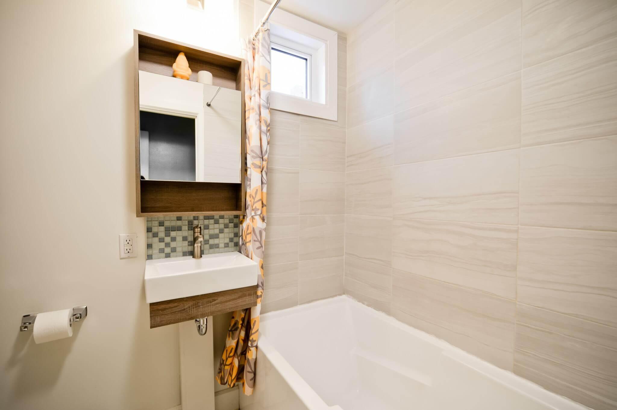 petite salle de bain apres renovation