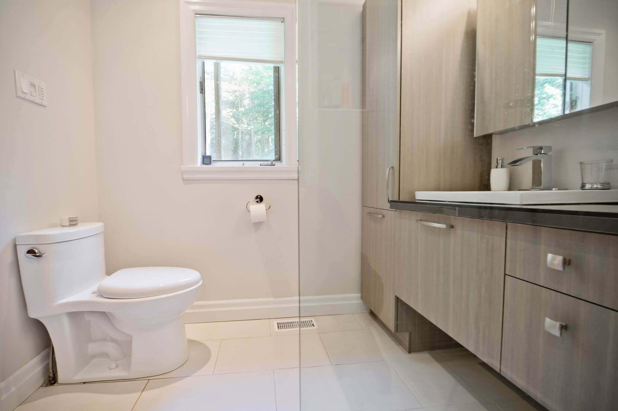 toilette de salle de bain