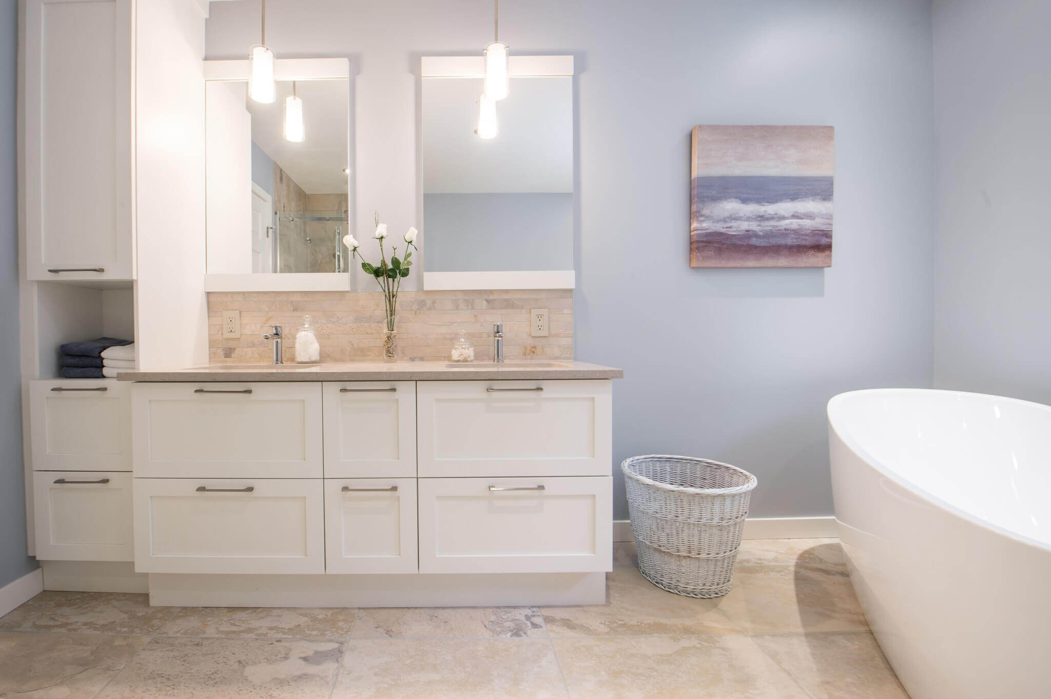 salle de bain unique