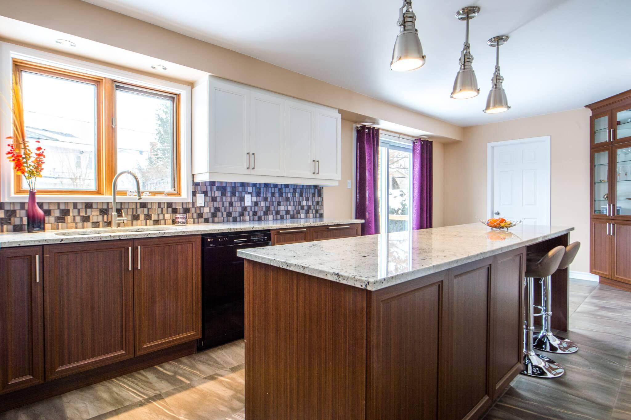projet de cuisine de bois pale