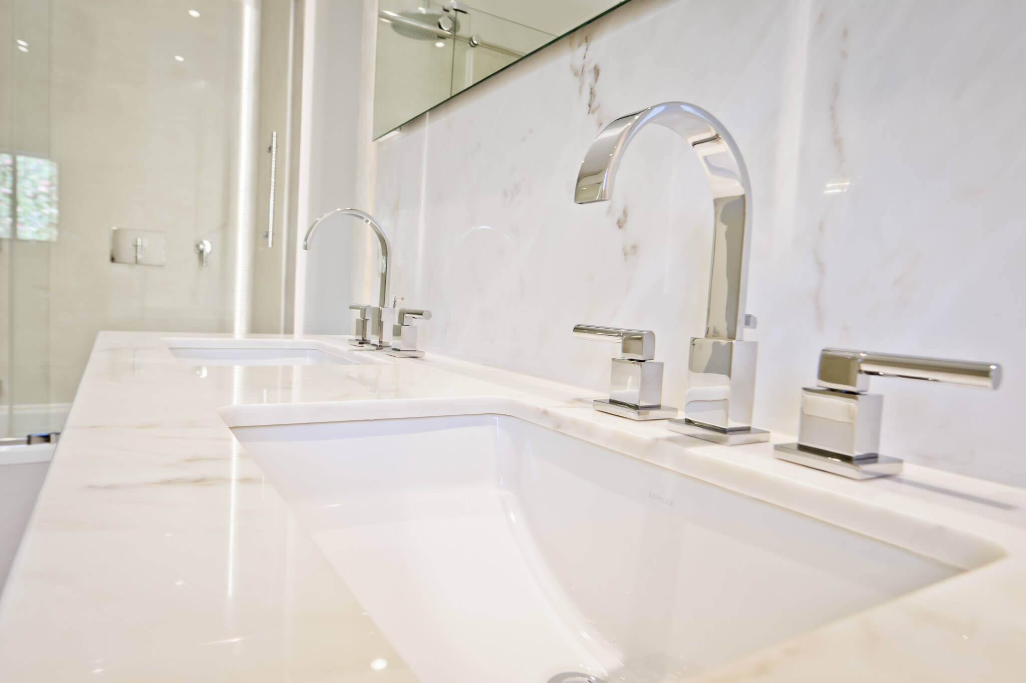 lavabo blanc