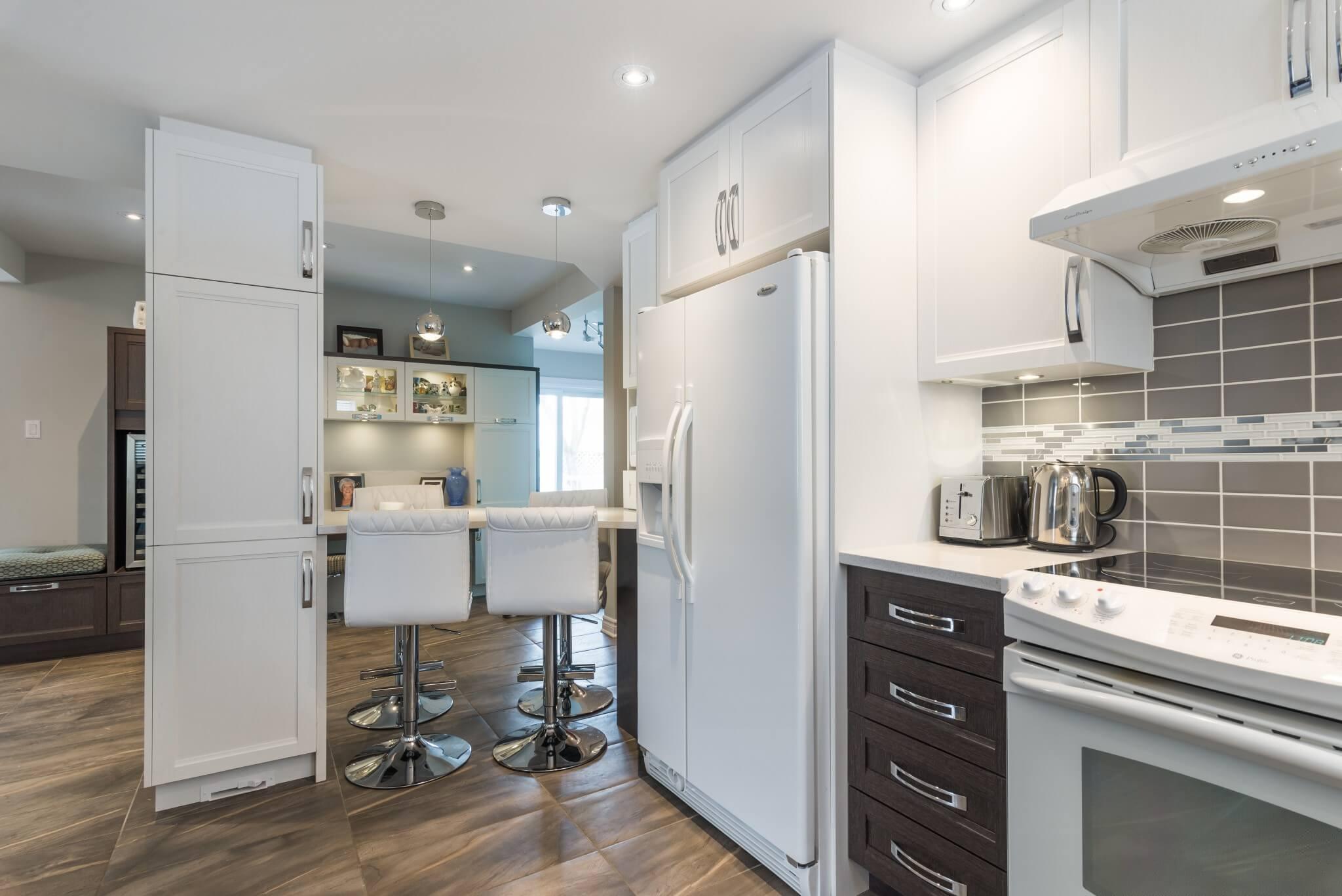 petit espace comptoir de cuisine