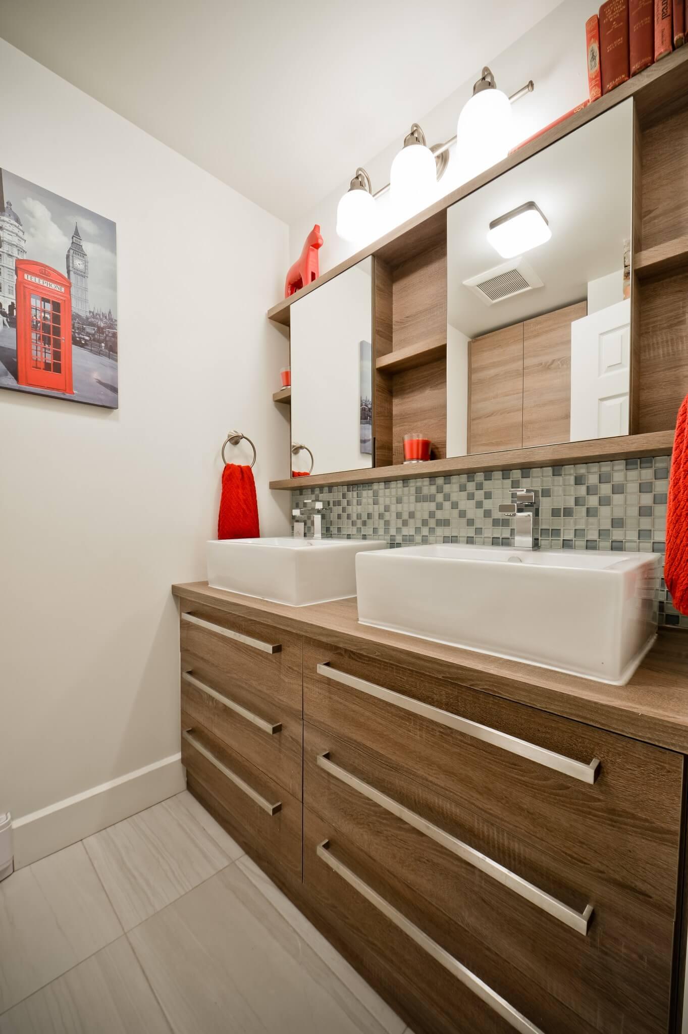 nouvelle vanite salle de bain