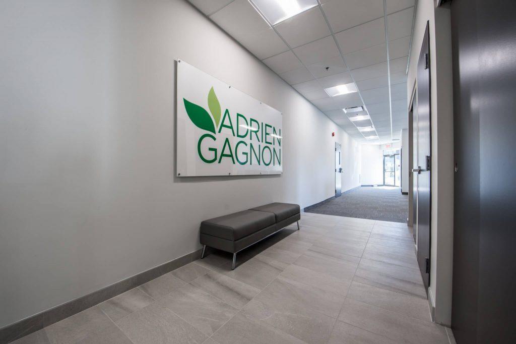 Adrien Gagnon   Agrandissement de bureaux