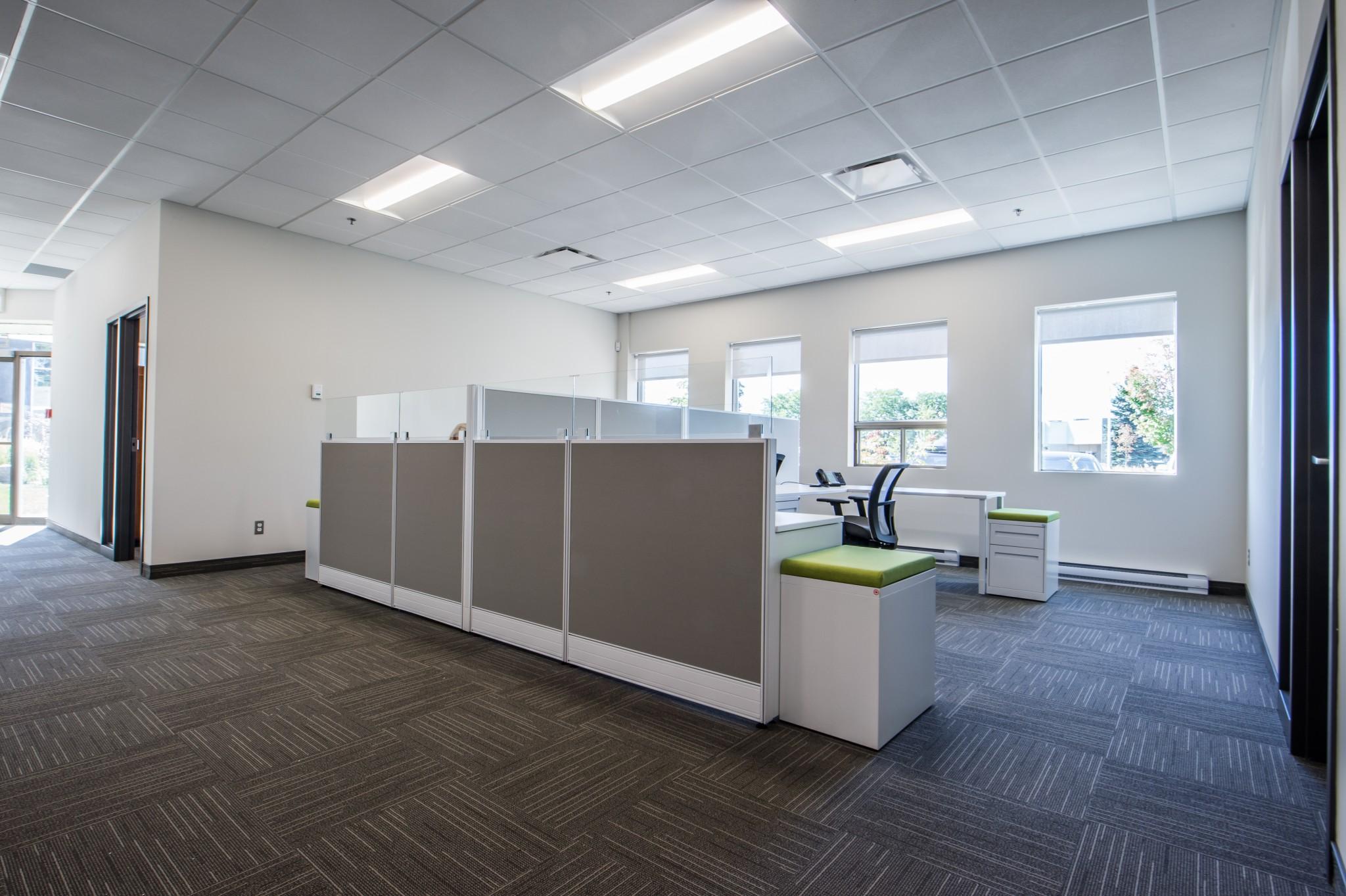 Rénovation de bureau espaces communs