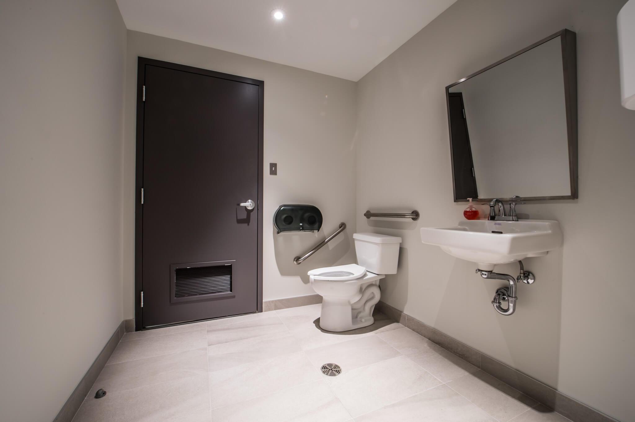 salle de bain bureau
