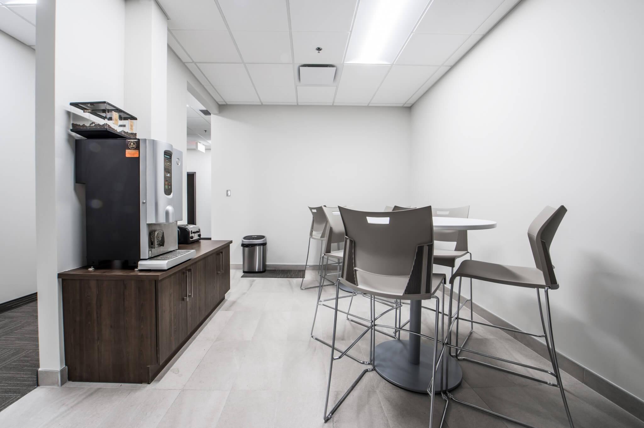 Salle à manger bureau employés