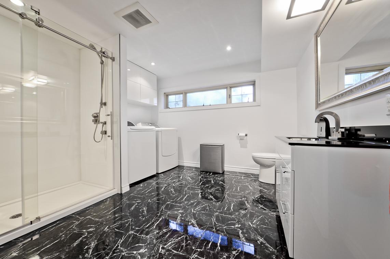 plancher salle de bain