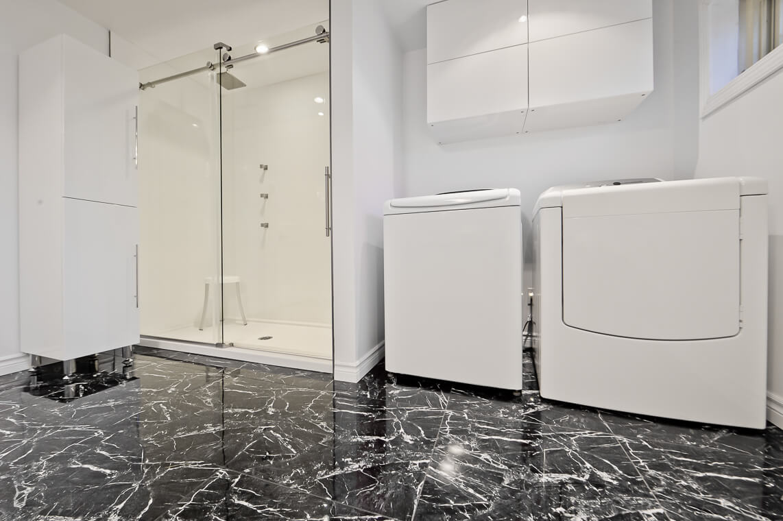 plancher pour salle de bain