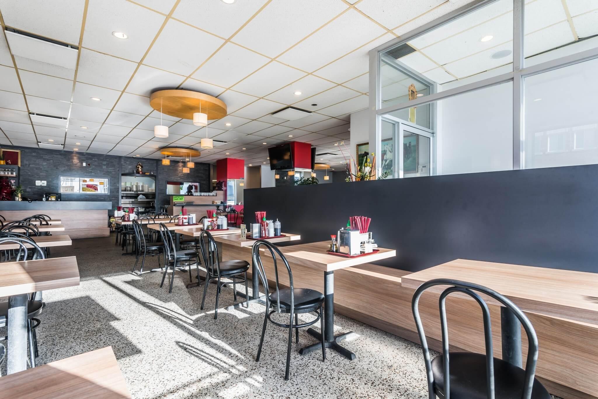 renovation restaurant chinois