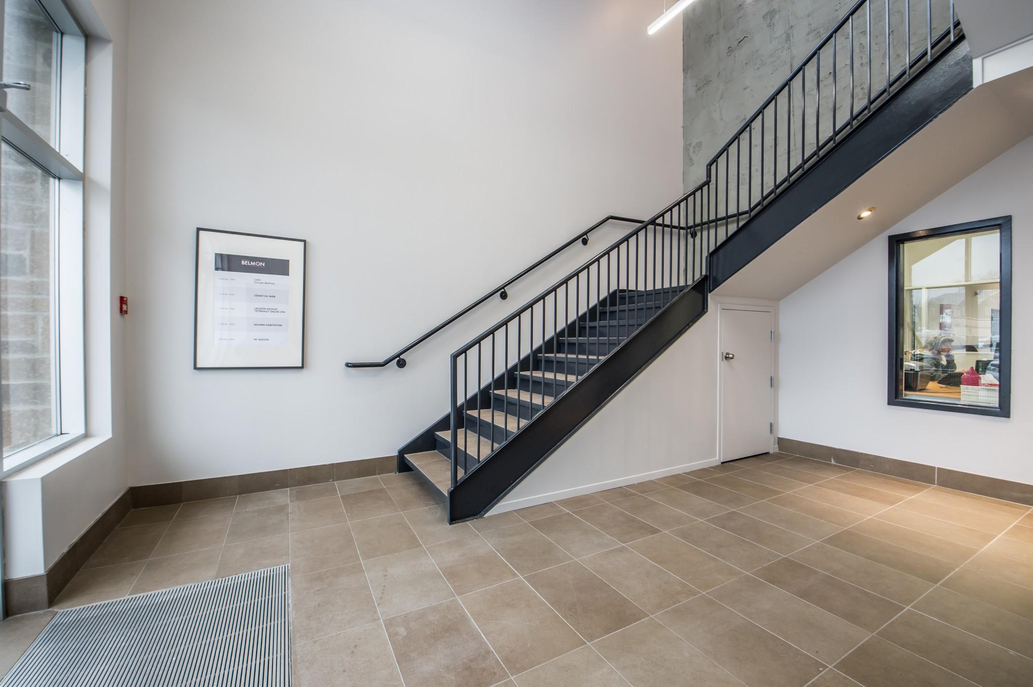 rénovation d'une cage d'escaliers