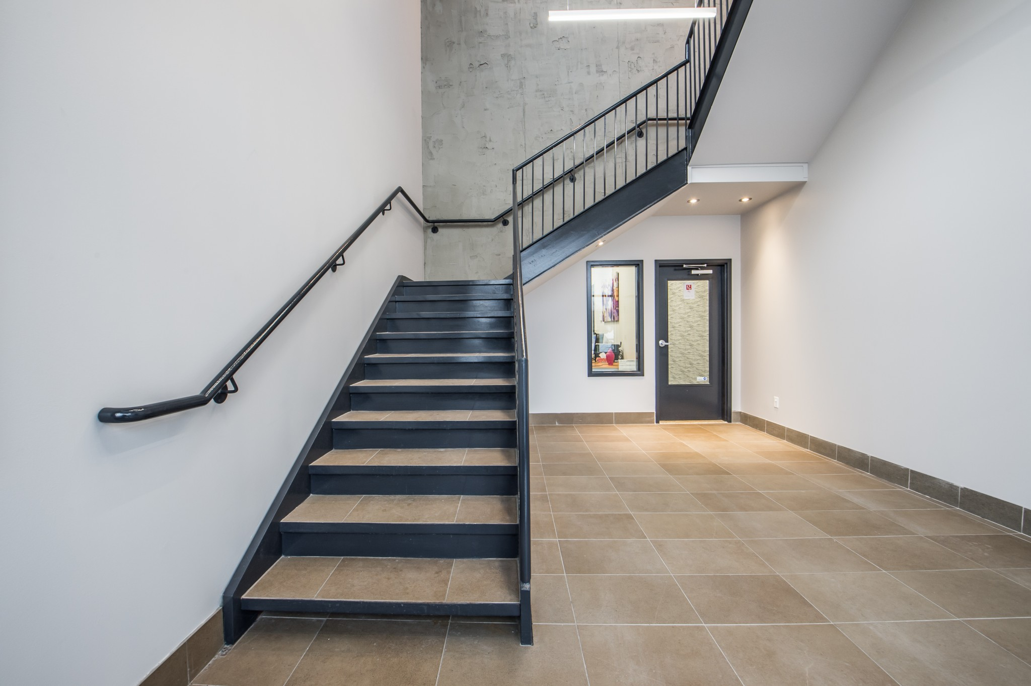 rénovation commerciale escalier