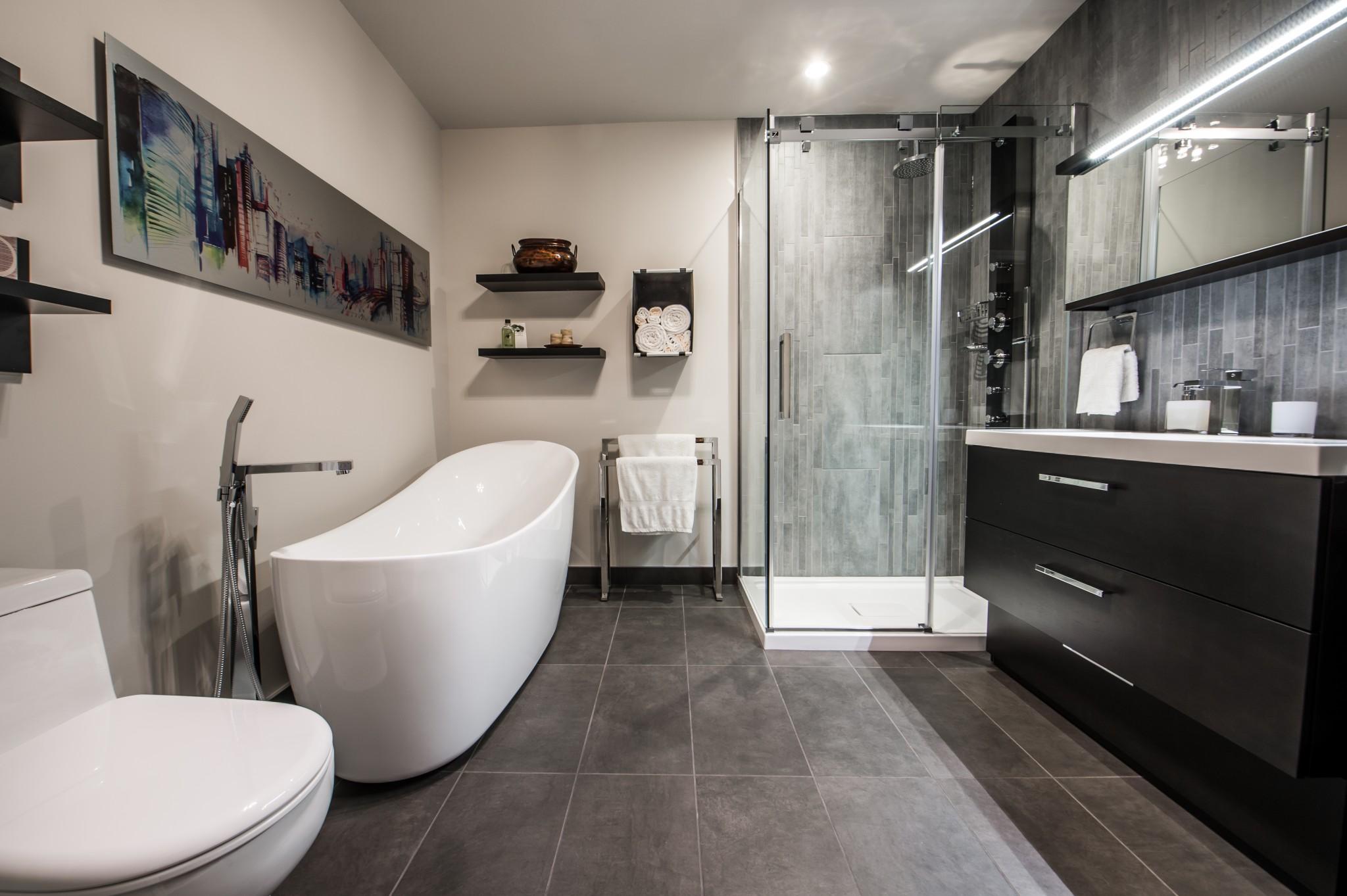 r novation d 39 une salle de bain et de la chambre des ma tres leduc. Black Bedroom Furniture Sets. Home Design Ideas