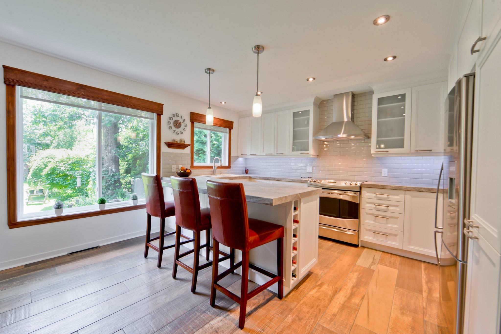Cabinets de cuisine modernes