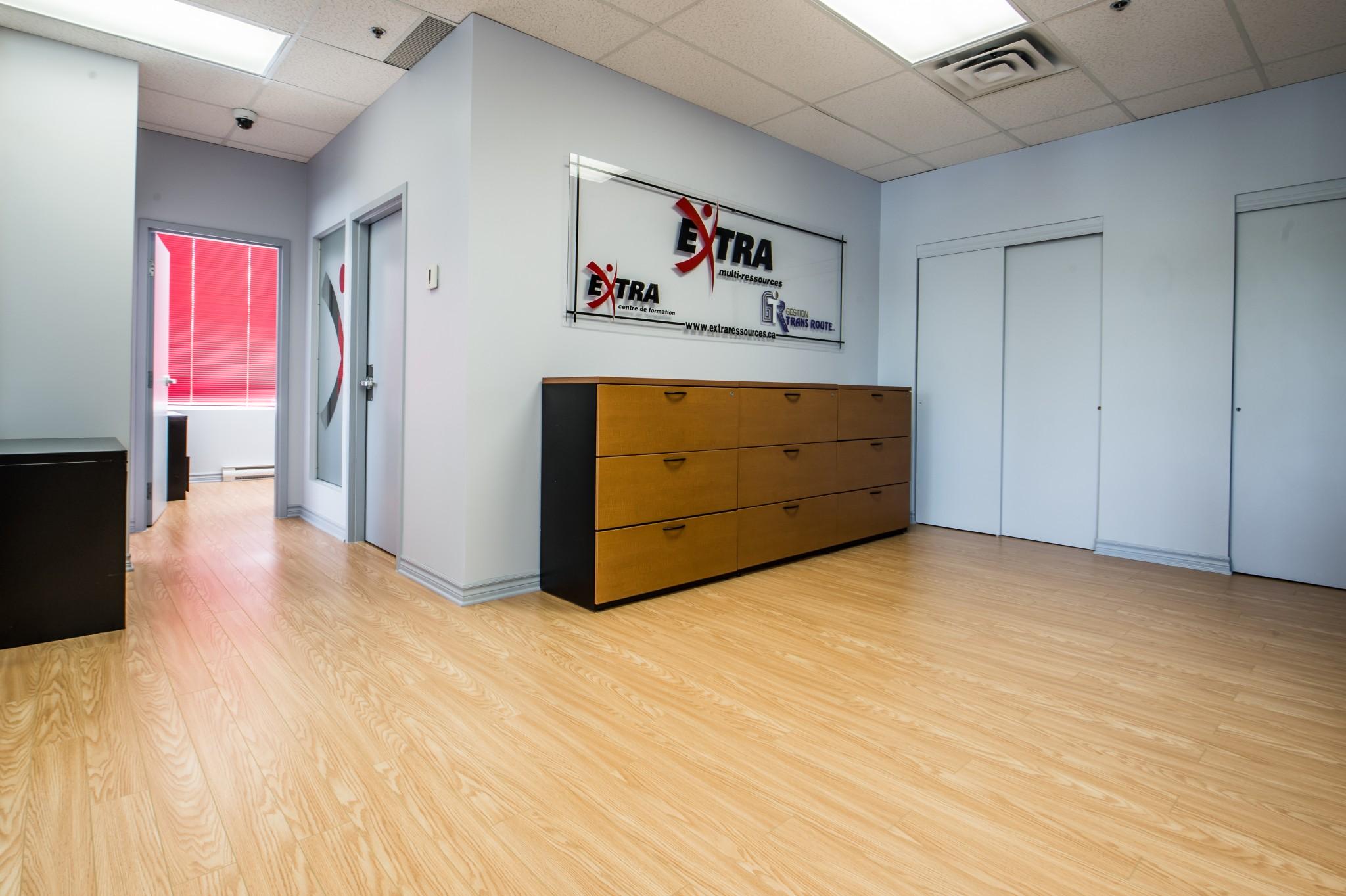 plancher bureau commercial