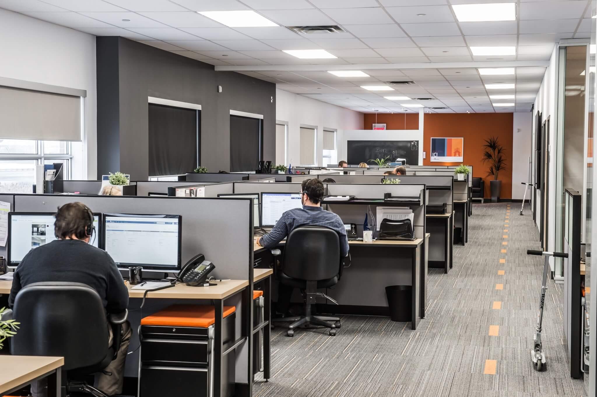 Rénovation de bureau montréal