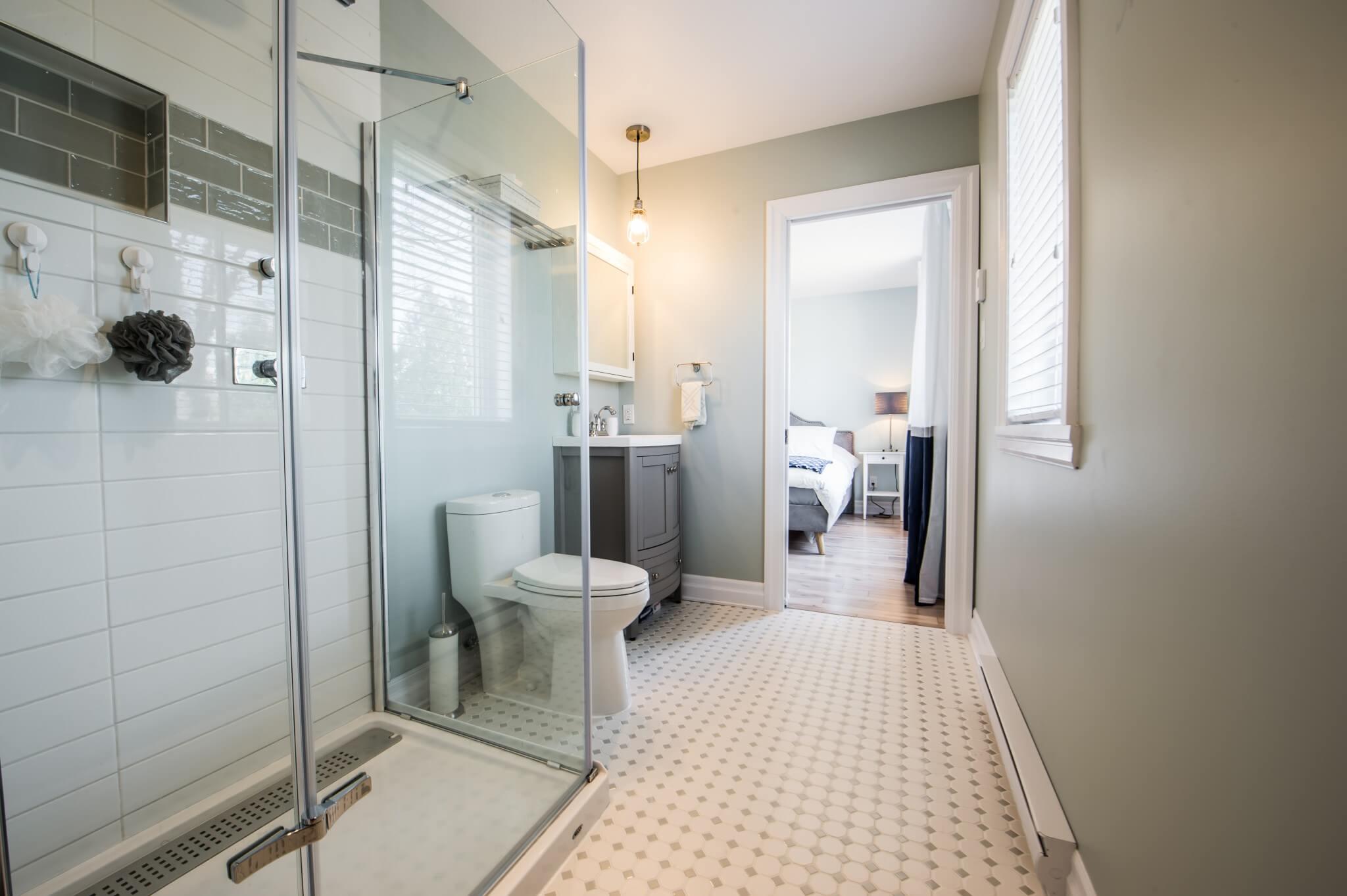 douche vitree salle de bain