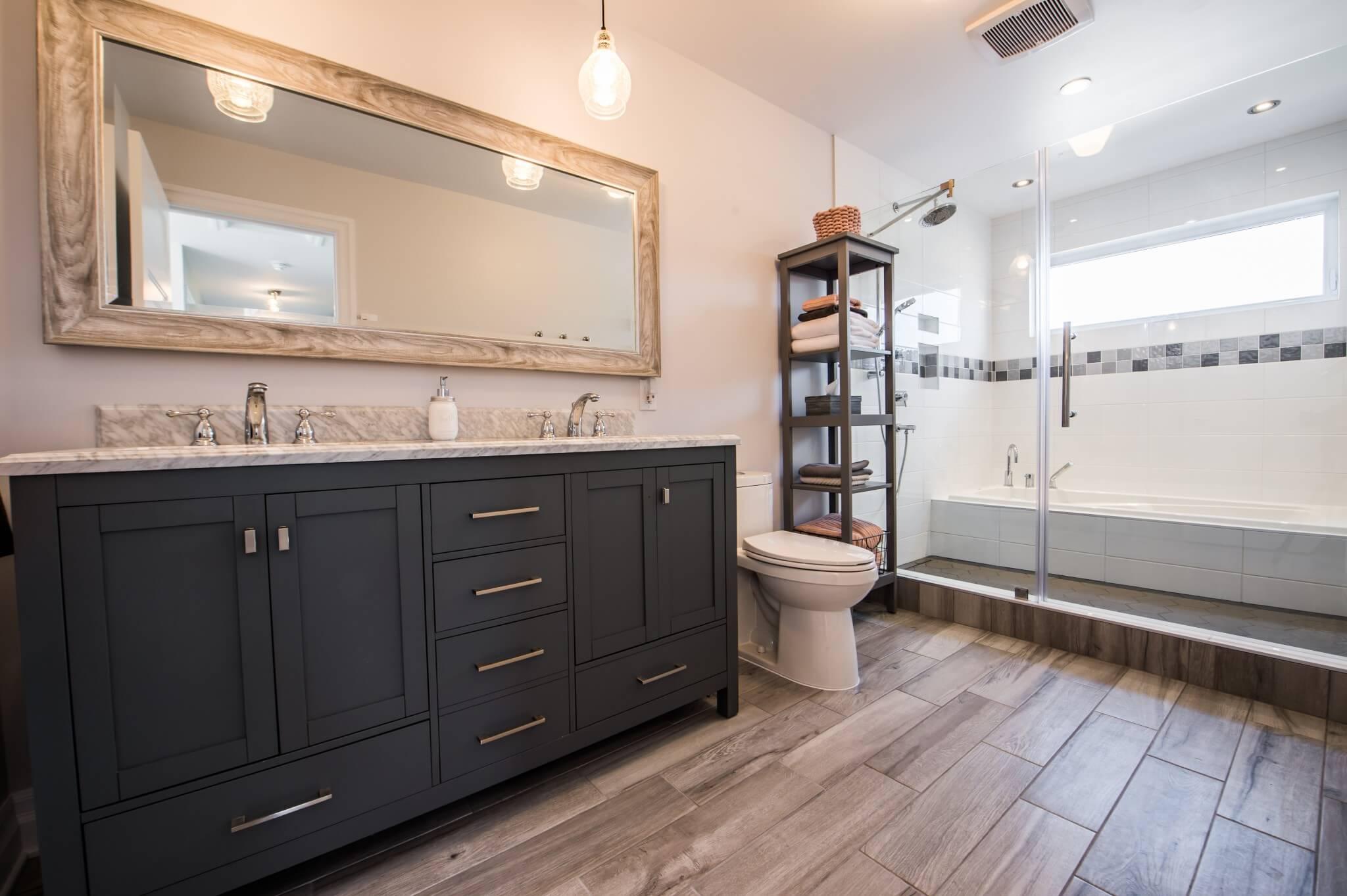 salle de bain agrandissement de maison