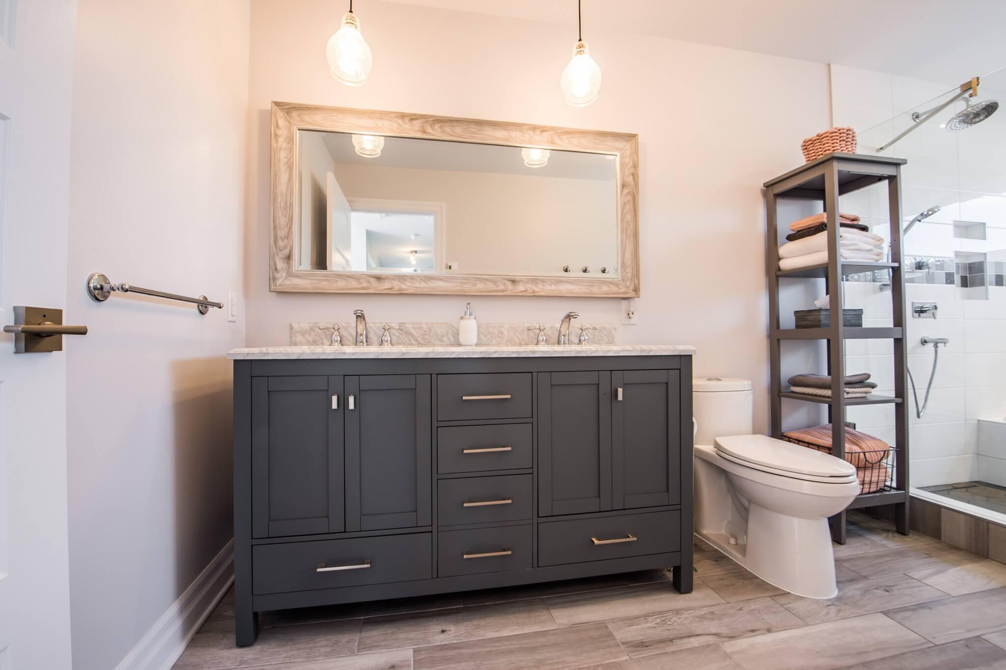 comptoir et vanite de salle de bain
