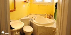 photo avant adaptation salle de bain