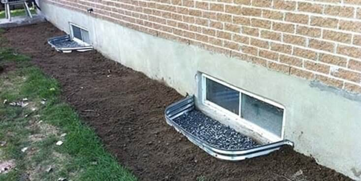 French drain project