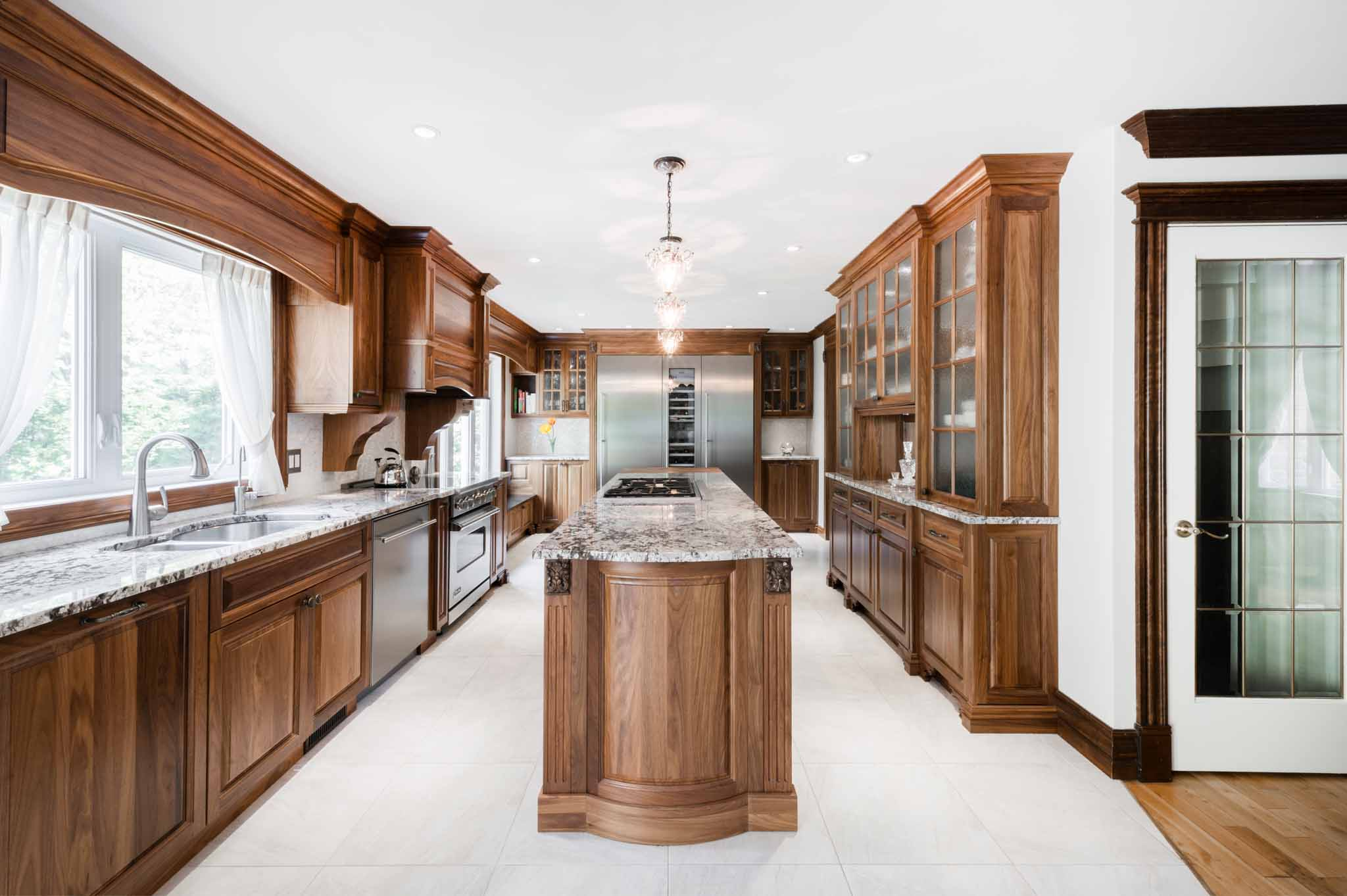 Classic wooden kitchen