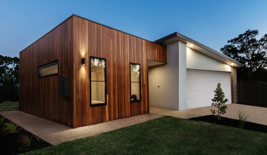 revêtement maison en bois
