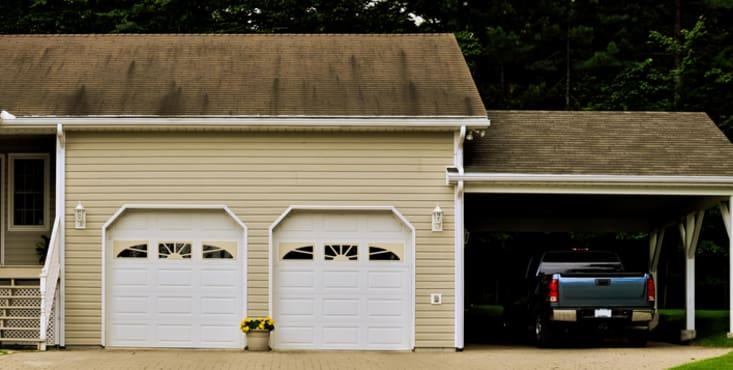 Construction de garage jusqu 39 3 entrepreneurs en comp tition - Fabrication d un garage ...