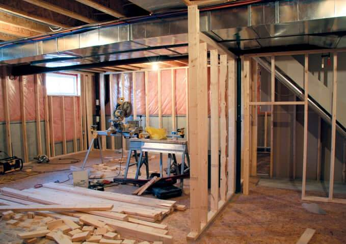 basement renovation contracting