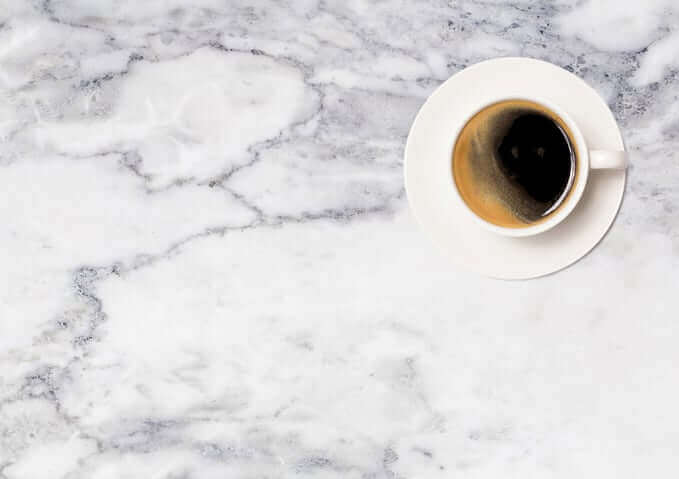 kitchen marble coffee cup