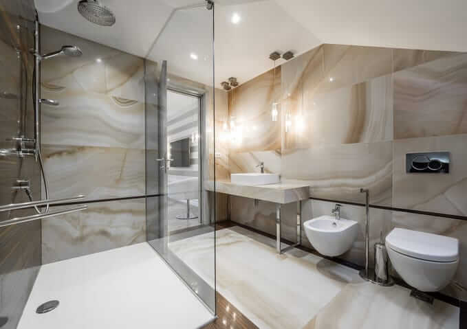modern bathroom new