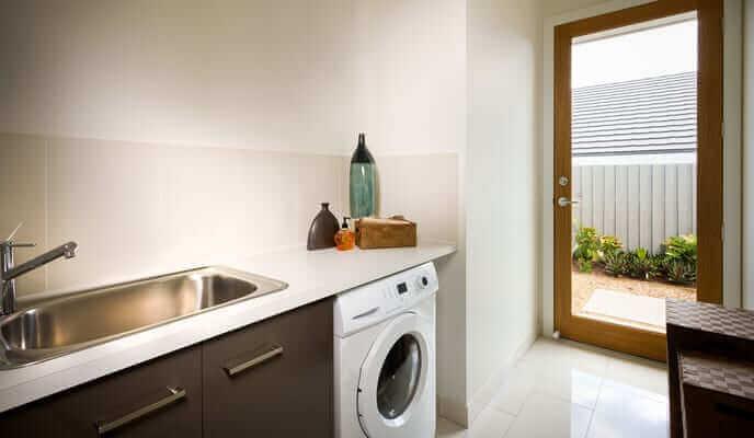 salle de lavage renovation
