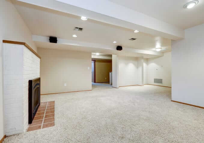 simple basement