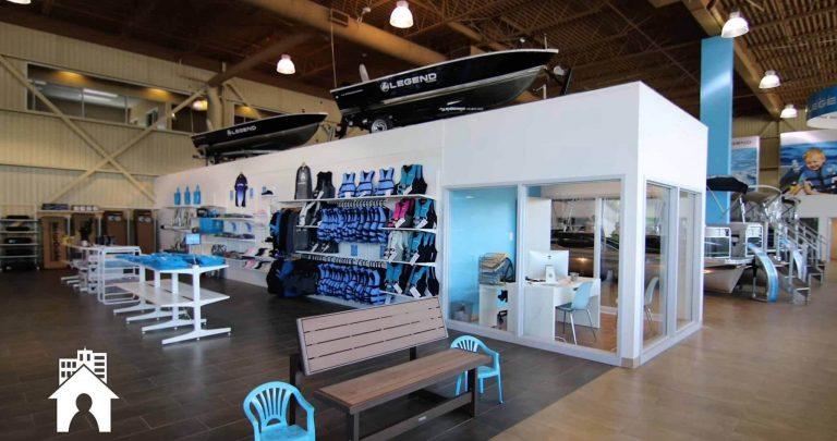 Bateaux Legend   Rénovation concessionnaire