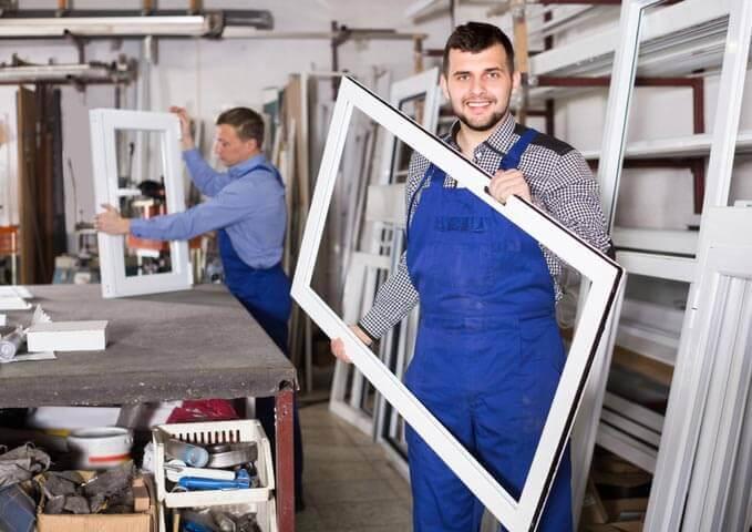 Fabrication fenêtre d'aluminium