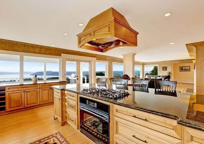 luxury kitchen renovation ocean view