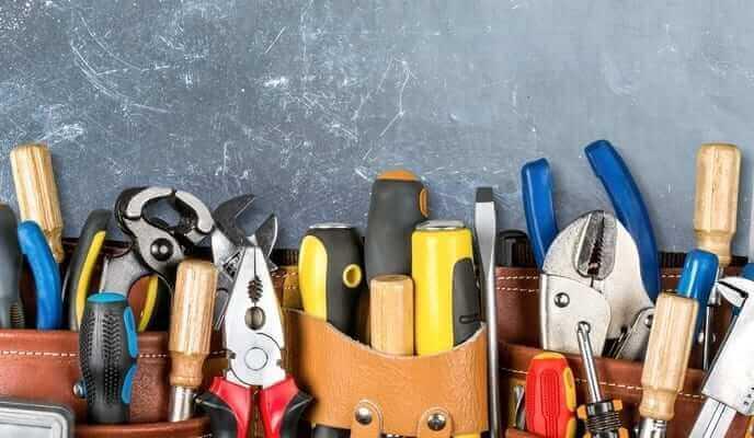 outils de rénovation