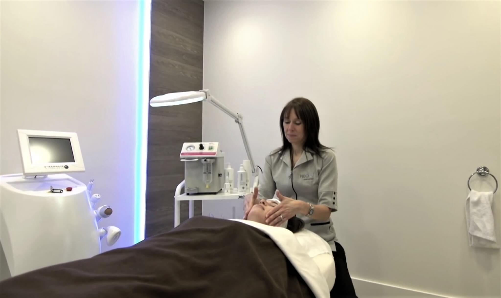 clinique de spa rénovée